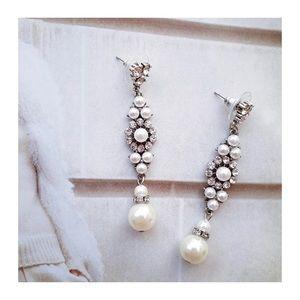 Jewelry - Bridal Pearl Earrings